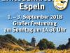 Plakat Erntedank 2018